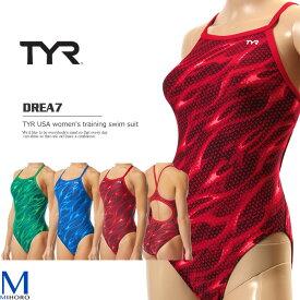 レディース 競泳練習用水着 TYR ティア DREA7