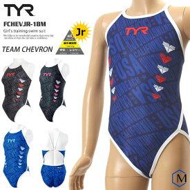 366ddf66706 ジュニア水着 女子 競泳練習用水着 TYR ティア FCHEVJR-18M