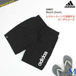 メンズ フィットネス水着 男性 ルーズタイプ(裾ゆるめ) adidas アディダス GHM27