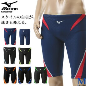FINAマークあり メンズ 競泳水着 男性 mizuno ミズノ N2MB8040