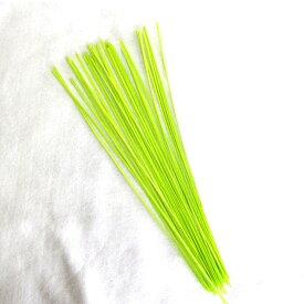 シトラスリボンストラップ 水引チャーム 製作材料 水引素材30cm 黄緑プラチナ黄緑3本バンドテープ30cm 【50本入り】 シトラスリボン結び方 作り方レシピ付き