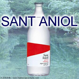 【送料無料】サンタニオル/Sant Aniol 炭酸 500mlx20本 グラスボトル 【RCP】
