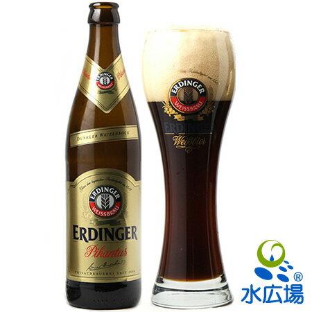 ドイツビール エルディンガー・ヴァイス・ビア・ピカントゥス 500ml(瓶)×12本 【正規輸入代理店から直送】【送料無料】【楽ギフ_のし】【楽ギフ_のし宛書】