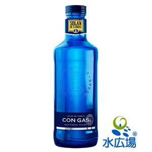 ソラン・デ・カブラス/Solan de Cabras 炭酸入り 750mL グラスボトル 12本入り 送料無料 スペイン産 中硬水