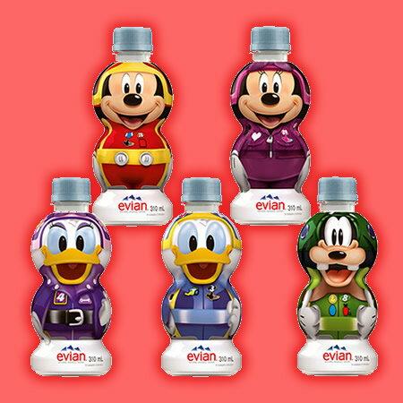 エビアンディズニーボトル 310mlx24本入り 数量限定 在庫終了時点で終売 キャラクター指定不可 送料無料