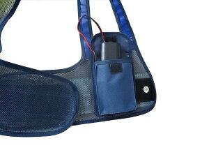フルハーネス用LED安全ベスト『装着できるんです』墜落制止用器具ハーネス安全帯ランヤード