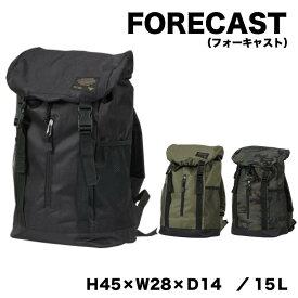 FORECAST(フォーキャスト)バックパック リュックサック容量15L カラー3色kjm-9101