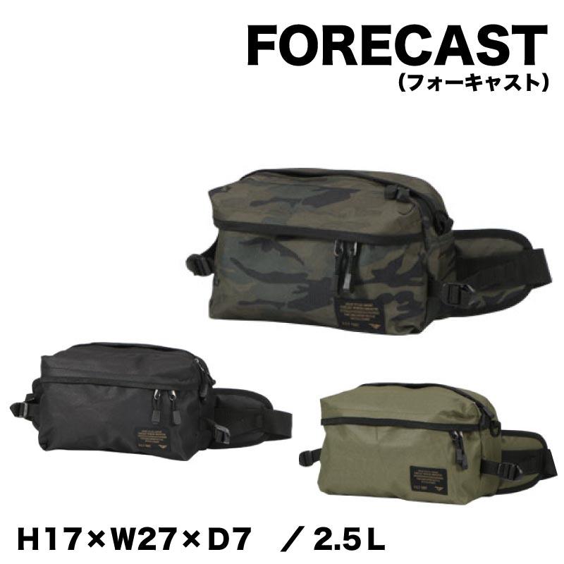 FORECAST(フォーキャスト)ウエストバッグ 容量2,5Lkjm-9104