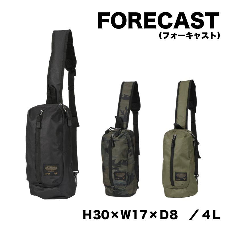 FORCAST (フォーキャスト)ボディバッグ 容量4L カラー3色kjm-9105
