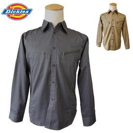 ディッキーズ 長袖シャツD-1868作業着 作業服 ワークウェア Dickies コーコス 秋冬用