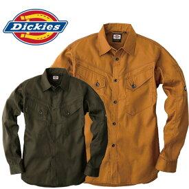 ディッキーズ 長袖シャツD-1238作業着 作業服 ワークウェア Dickies コーコス 春秋用