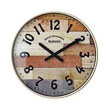 INTERFORM ブッシュウィック(Bushwick) 壁掛け電波時計