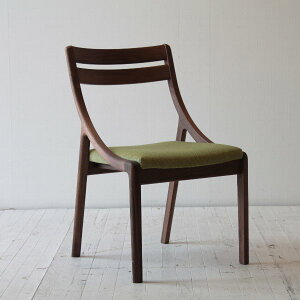 Arco-WN村澤一晃デザインダイニングチェアーウォールナット無垢材天然木ファブリック木のイス椅子チェアーデザイナー国産