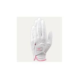 [ミズノ]手袋/ホワイトシープ(左手)(レディース/ゴルフ)