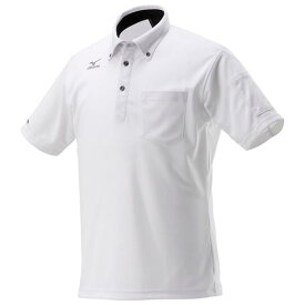 ミズノ公式 ハイドロ銀チタンポロシャツ半袖 メンズ