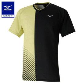 [ミズノ]ゲームシャツ(ラケットスポーツ)[ユニセックス]