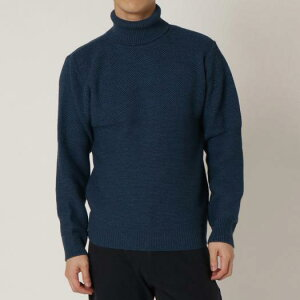 ミズノ公式 ブレスサーモハイネックセーター メンズ   エクリプスネイビー