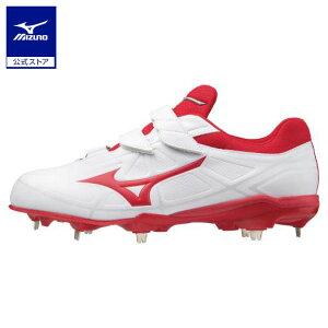 ミズノ公式 ライトレボバディーBLT 野球/ソフトボール ユニセックス   ホワイト×レッド