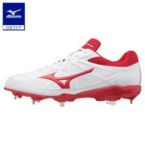 ミズノ公式 ライトレボバディー 野球/ソフトボール ユニセックス   ホワイト×レッド