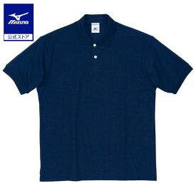 [ミズノ]半袖ポロシャツ(カラー)
