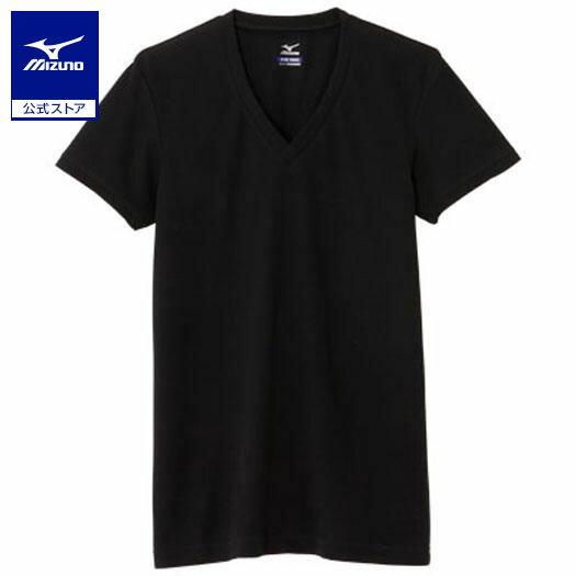 [ミズノ]【アイスタッチエブリ】Vネック半袖シャツ(大きいサイズ)