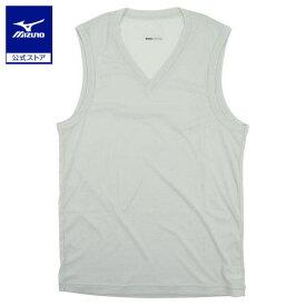 [ミズノ]ドライサイエンス/Vネックノースリーブシャツ(大きいサイズ)