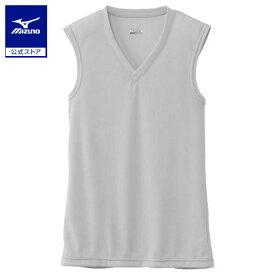 [ミズノ]【ドライベクターエブリ】Vネックノースリーブシャツ(大きいサイズ)