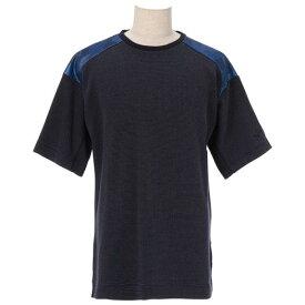[ミズノ]ワッフル半袖Tシャツ[メンズ]