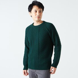[ミズノ]ブレスサーモクルーネックセーター[メンズ]