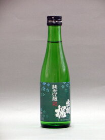 出羽桜 純米吟醸深緑ラベル 300ML 24本入り