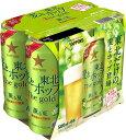 【2017東北限定】サッポロ麦と東北ホップTheGold薫る夏 500ML 6缶パック