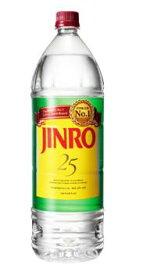25度 JINRO (ジンロ) 1.8LPET