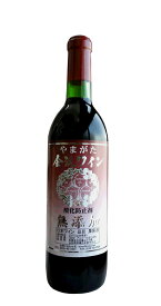 佐藤ぶどう酒 金渓ワイン赤 無添加 720ML
