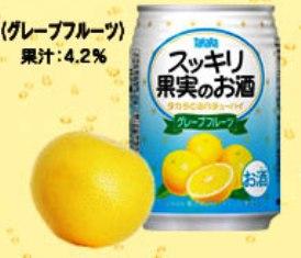 タカラ スッキリ果実のお酒 グレープフルーツ250ML×24本入