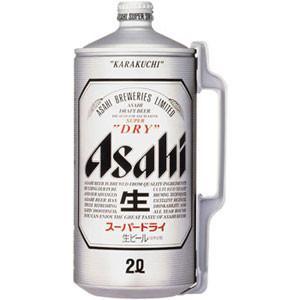 アサヒスーパードライ 2L樽【ミニ樽】