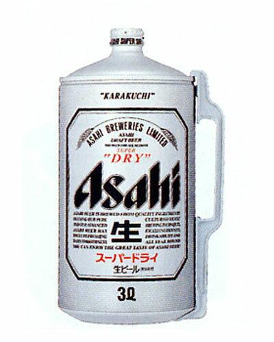 アサヒスーパードライ 3L樽【ミニ樽】