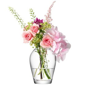 LSA FLOWER MINIBOUQUET VASE ベース H95mmクリアー<箱入り>【花瓶】