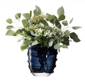 LSA YARNVASE 〈Sapphire Blue ブルー〉H260mm 【花瓶】<箱入り>