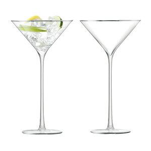 LSA CELEBRATECOCKTAIL GLASSカクテルグラス 2個セット【プラチナ】