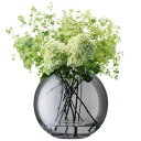 LSA POLKAVASE 〈SHEER ZINC〉H110mm 【花瓶】<箱入り>