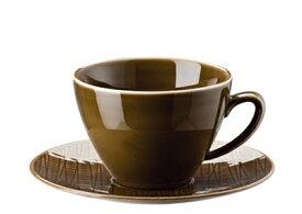 ROSENTHAL MESH メッシュコーヒーカップ&ソーサー〈ウォールナット〉