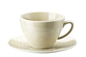 ROSENTHAL MESH メッシュコーヒーカップ&ソーサー〈クリーム〉