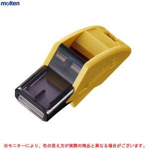 ■molten(モルテン)ドルフィンB(RA0080A)(笛/審判/レフェリー/ホイッスル/バスケ/バスケットボール/カーキ/イエロー/黄色)