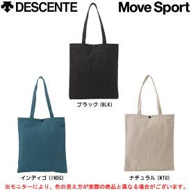 DESCENTE(デサント)トートバッグ(ライト)(DAC-8380)(Move Sport/エコバッグ/キャンバス/かばん/鞄)