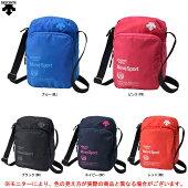 DESCENTE(デサント)ミニボディーバッグ(DMANJA47)(MoveSport/スポーツ/ショルダーバッグ/斜め掛け/かばん/ポシェット/カジュアル/鞄)