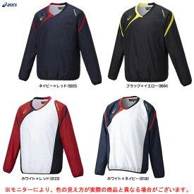ASICS(アシックス)ゴールドステージ Vジャン L S(BAV022)(野球/ベースボール/ソフトボール/トレーニング/スポーツ/ウェア/防寒/男性用/メンズ)