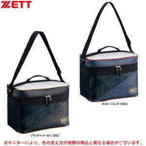 ZETT(ゼット)クーラーバッグ(BA1530B)(野球/ベースボール/ソフトボール/スポーツ/運動/試合/部活/保冷バッグ/保冷バッグ/ショルダーベルト付き)