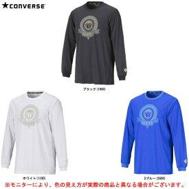CONVERSE(コンバース)ゴールドシリーズ ロングスリーブシャツ(CBG282305L)(スポーツ/トレーニング/バスケットボール/バスケ/プラクティス/長袖/ウェア/吸汗速乾/男性用/メンズ)
