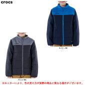 Crocs(クロックス)中綿ジャケット(149292)(スポーツ/カジュアル/アウター/ジャンバー/上着/中綿/ダウン/防寒/子供用/ジュニア/キッズ)