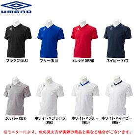 UMBRO(アンブロ)JR S/Sプラクティスシャツ(UBS7037JA)(サッカー/フットボール/インナー/半袖/Tシャツ/トレーニング/子供用/ジュニア/キッズ)